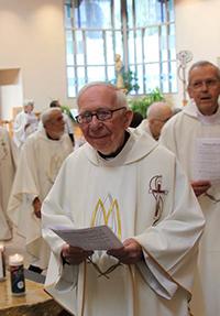 Fr. Clarence Zachman, OMI