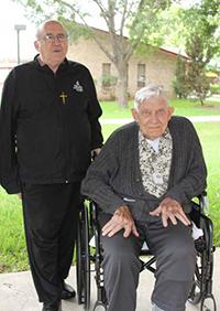 Fr. Ron Carignan, OMI and Fr. Leo Dummer, MI